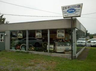 Renninger's Front Showroom
